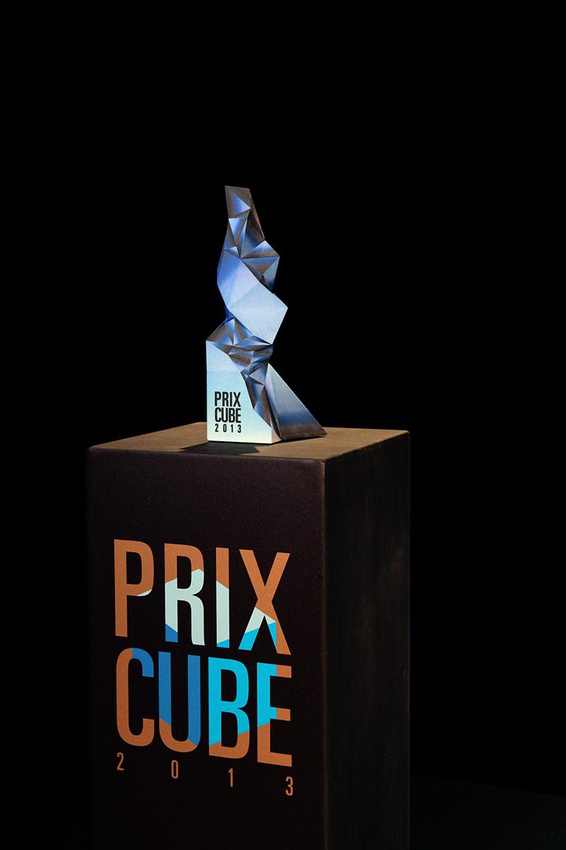 prix cube a 3d printed award hugo arcier. Black Bedroom Furniture Sets. Home Design Ideas