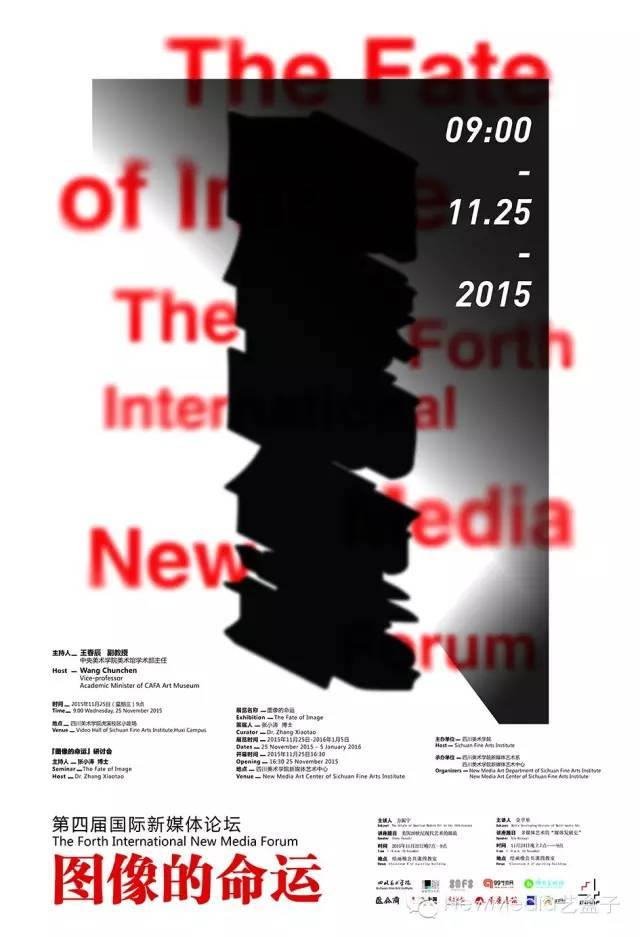 The fate of image - affiche